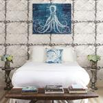 2922-22305 Trilogy Donahue White Tin Ceiling by A-Street Prints Wallpaper2