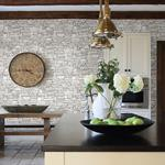 2774-859126 Stones and Woods Wrangell Cream Stacked Slate by Advantage Wallpaper2