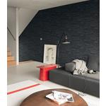 2774-475036 Stones and Woods Collegiate Charcoal Stacked Slate by Advantage Wallpaper2