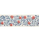 76290 Ashoka Tape Rose and Sky by Schumacher Fabric2