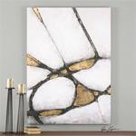 34352 Abstract in Gold and Black by Uttermost-2