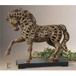 19217 Prancing Horse Sculpture by Uttermost-2