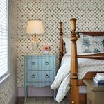 Mcentire Off-White Geometric Quilt by Chesapeake Wallpaper