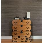 2732-65409 Canton Road Yunnan Brown Grasscloth by Kenneth James Wallpaper2