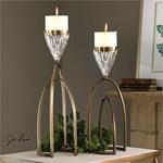 18920 Carma Candleholders S/2 by Uttermost-2