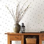 3118-49469 Birch and Sparrow Pinecone Toss Conifer by Chesapeake Wallpaper2