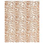 80671 Quincy Embroidery On Linen Toast By Schumacher Fabric 2