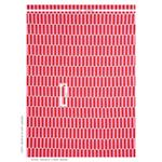 179280 Luna Pink and Red by Schumacher Fabric2