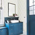 Sunkissed Light Green Floral by Chesapeake Wallpaper