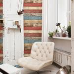 2701-22319  Reclaimed Red Textured by A-Street Prints Wallpaper2