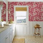 2969-26054 Pacifica Alfresco Pink Tropical Palm Pinkby A-Street Prints Wallpaper2