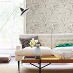 2764-24306 Bliss Taupe Blossom Mistral by A-Street Prints2