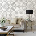2902-87336 Theory Voltaire Off-White Geometric by A-Street Prints Wallpaper2