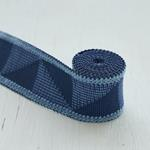 78530 Teague Tape Indoor/Outdoor, Blue By Schuma-4