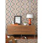 Decorline - Geo Orange Geometric Wallpaper2