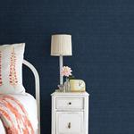 2732-80088 Canton Road Peninsula Navy Sisal Grasscloth by Kenneth James Wallpaper2