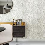 Titania Silver Marble Texture by Brewster Wallpaper
