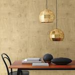 Ozone Gold Texture by Brewster Wallpaper