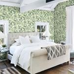 Chaparral Green Fronds by Chesapeake Wallpaper