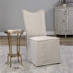 23309 Lenore Armless Chair Oatmeal 2 Pe by Utter-2