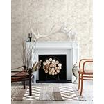 3118-12642 Birch and Sparrow Champlain Grid Wood by Chesapeake Wallpaper2