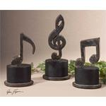19280 Music Notes S/3 by Uttermost-2