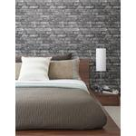2922-21260 Trilogy Debs Grey Exposed Brick by A-Street Prints Wallpaper2