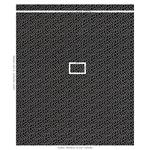 67605 Meander Embroidery Black By Schumacher Fabric 2