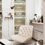 2701-22302  Reclaimed Sky Blue Textured by A-Street Prints Wallpaper2