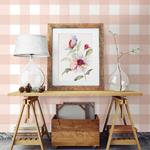 Amos Light Pink Gingham by Chesapeake Wallpaper