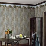 3118-48541B Birch and Sparrow Moose Lake Forest by Chesapeake Wallpaper2