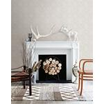 3118-12664 Birch and Sparrow Java Medallion by Chesapeake Wallpaper2