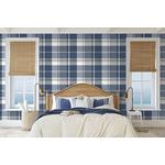 2927-81102 Newport Madaket Indigo Plaid by A-Street Prints Wallpaper2