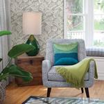 2969-87531 Pacifica Alma Light Grey Tropical Floral Greyby A-Street Prints Wallpaper2