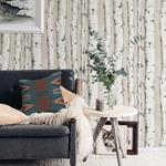 3118-12601 Birch and Sparrow Pioneer Birch Tree by Chesapeake Wallpaper2