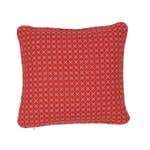 """So7720102 Elias 14"""" Pillow Pink and Red By Schumacher Furniture and Accessories 2"""