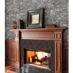 2774-859102 Stones and Woods Wrangell Grey Stacked Slate by Advantage Wallpaper2