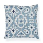 """So7652105 Crusoe Ikat 20"""" Pillow Sky By Schumacher Furniture and Accessories 2"""