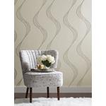 TR4292 Starlight Embroidery Stripes Resource Ronald Redding room