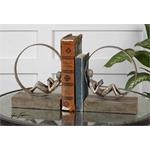 19596 Lounging Reader Bookends S/2 by Uttermost-2