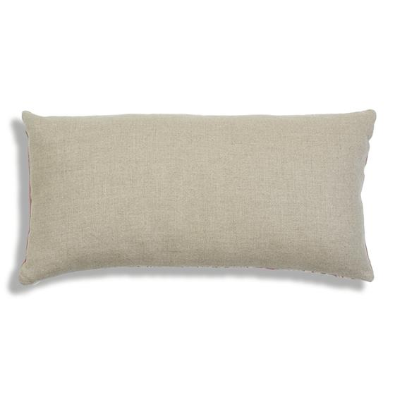So7547318 Wentworth Embroidery Pillow Rose By Schumacher Furniture and Accessories 2