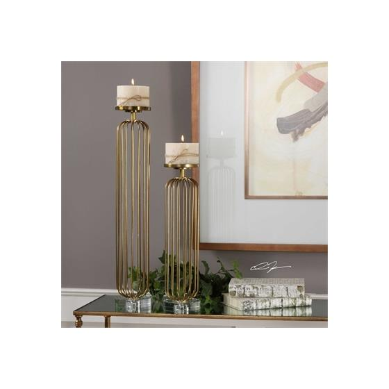 18819 Cesinali Candleholders S/2 by Uttermost-2
