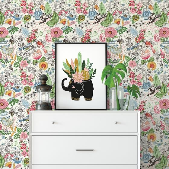 2821-12801 Folklore Whimsy by A-Street Prints Wallpaper2