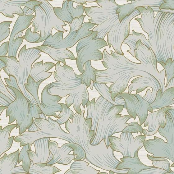 NV5511 Modern Heritage 125th Anniversary Acanthus Toss by York Wallpaper2