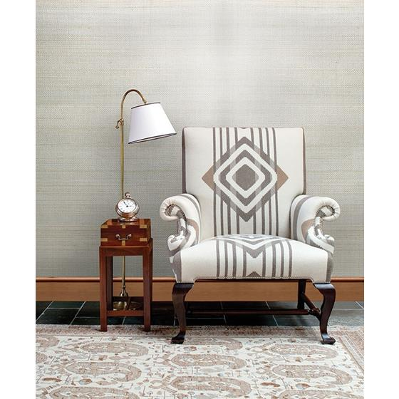 2732-54745 Canton Road Pearl River Silver Grasscloth by Kenneth James Wallpaper2