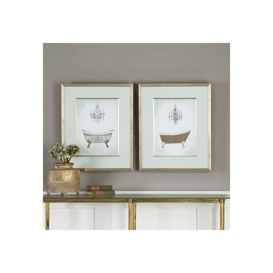 33677 Gilded Bath S/2 by Uttermost-2