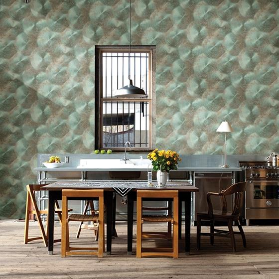 2701-22340  Reclaimed Turquoise Textured by A-Street Prints Wallpaper2
