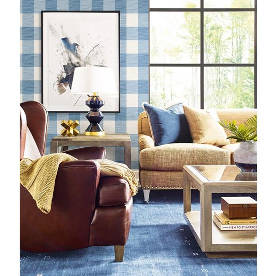 Ln10802 Rugby Gingham Seabrook Wallpaper2
