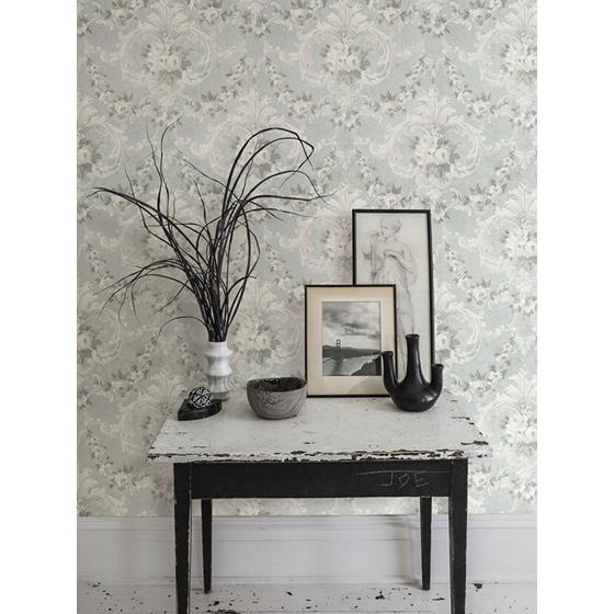AST4066 Zio and Sons This Old Hudson Vintage Blue Rose Damask by A-Street Prints Wallpaper2