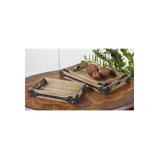 19667 Fadia Trays S/3 by Uttermost-2